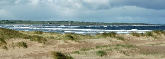 Am Strand von Strandhill