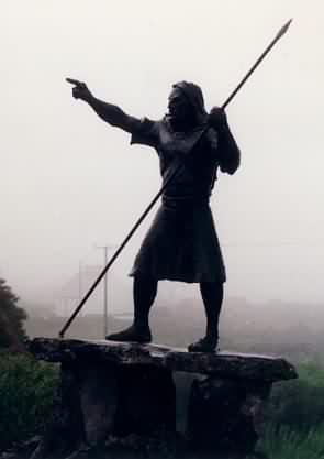Statue an der Straße