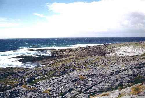 Wo der Burren im Meer versinkt