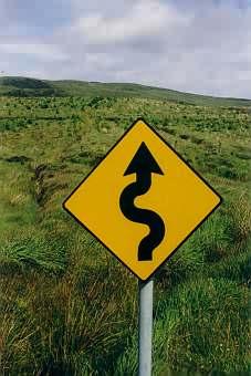 Ein in Momenten der Desorientierung äußerst hilfreiches Verkehrszeichen.