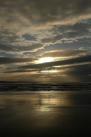 Bild vom letzten Strandspaziergang