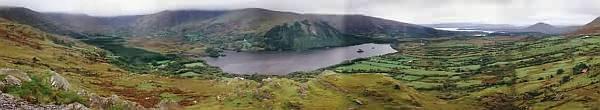Healy Pass, Blick nach Norden