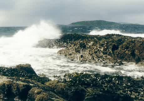 Der Atlantik und was er über das Festland denkt