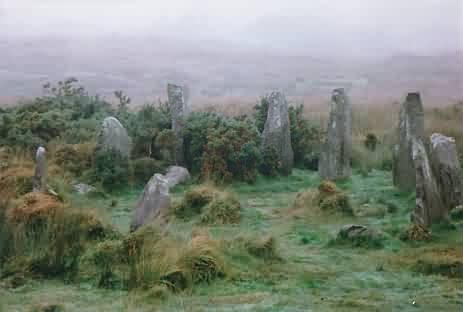 Ein Steinkreis