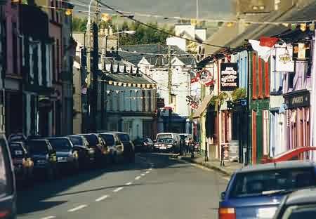 Castletownbere von innen.