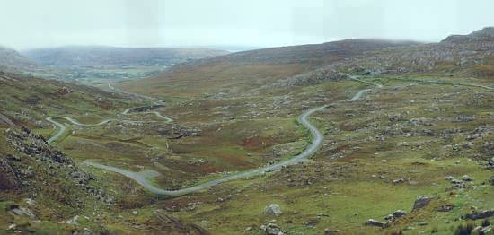 Healy Pass, Blick nach Süden