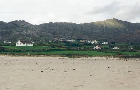 Ballydonegan Beach, Blick Richtung Allihies