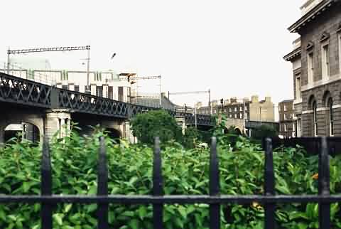 Stadtbahn am Custom House
