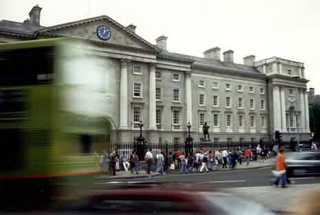 Verkehr am Trinity College