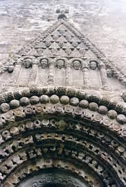 Portal der Kathedrale, Detail