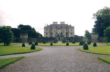 Portumna Castle mit Garten