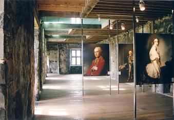 Porutmna Castle, Erdgeschoss (Ausstellung 2003)