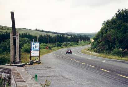 Im Anflug auf Killarney: Pass über die Derrynasaggart Mountains