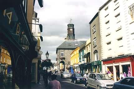 Innenstadt von Kilkenny mit dem Tholsel