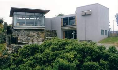 Eingangsgebäude Dunmore Cave