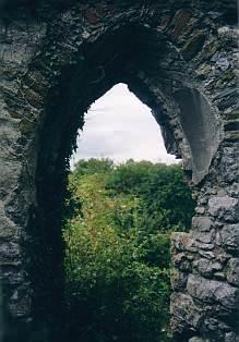Fenster, noch ohne Glas