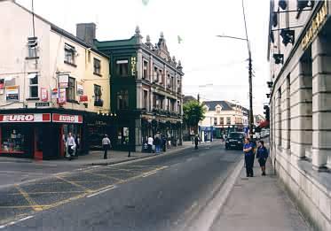 Hauptstraße von Tullamore