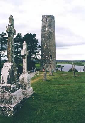 Der O'Rourke's Tower in der Nähe des Eingangs