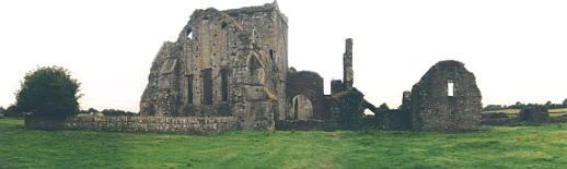 Die Hore Abbey zu Füßen des Rock of Cashel