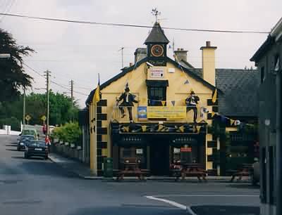 Und (unter anderen) dieses Pub.
