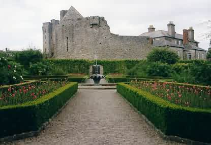 Garten hinter dem Roscrea Castle