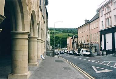 Straße in Clonmel 1