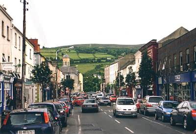 Straße in Clonmel 2