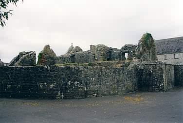 Ruinen des Refektoriums (Speisesaal des Klosters)