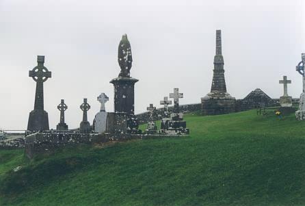 Gräber auf dem Rock of Cashel