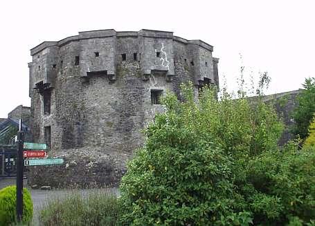 Rundturm im Athlone Castle