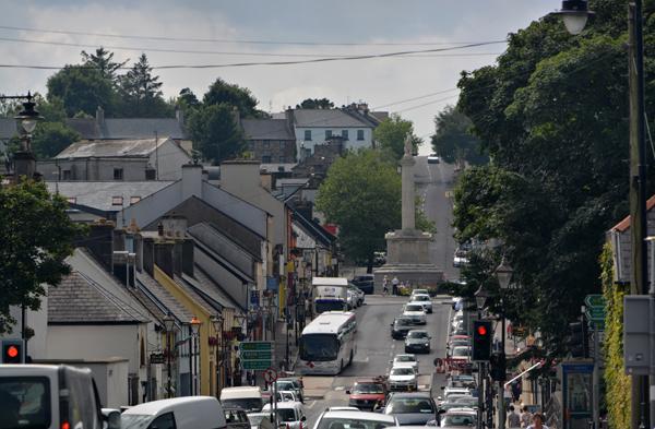 Geraffte Straße