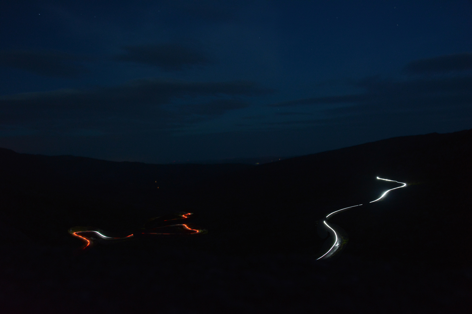 Healy Pass by night