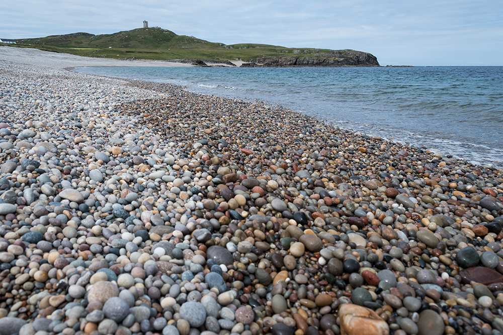 Pebble Beach und Malin Head