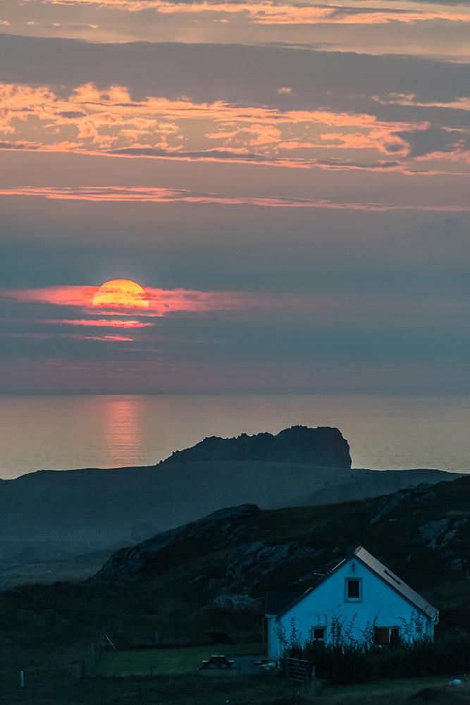 Sonnenuntergang auf Malin Head