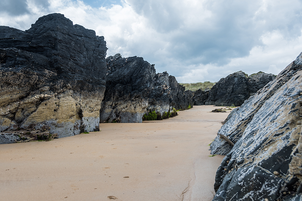 Culdaff Beach, Detail