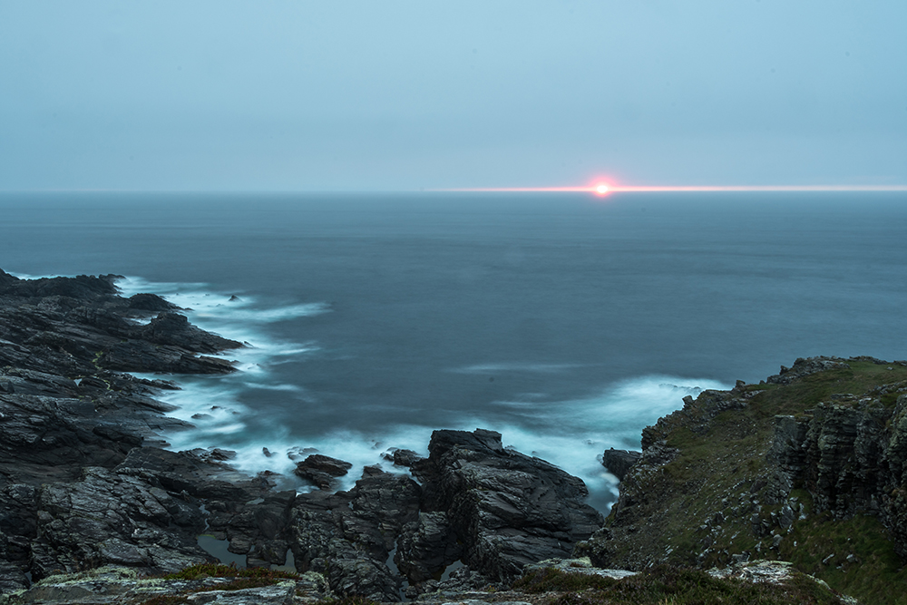 Sonnenuntergang am Malin Head