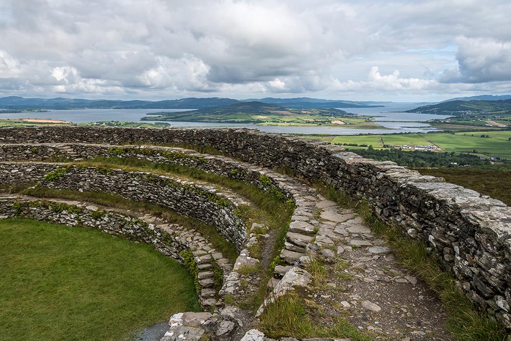 Grianan Of Aileach und die Insel Inch