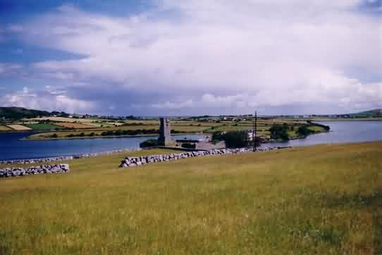 Muckinish Castle in der Nähe von Ballyvaughan