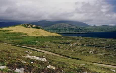 Blick über die Kilcatherine-Halbinsel