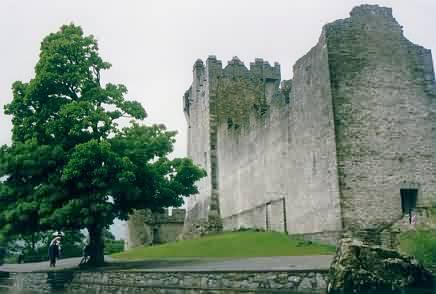 Ross Castle am Lough Leane