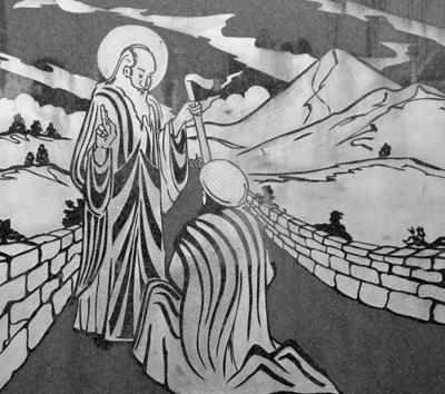 Bildnis des Heiligen Patrick in Aghagower